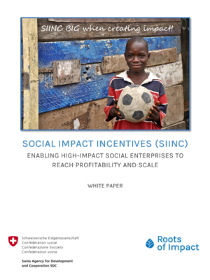 SIINC White Paper Cover